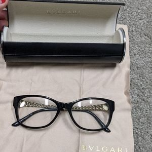 BVLGARI eyeglasses with case and cloth